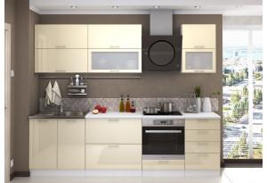Кухня Ксения 2,7м (модульная система), ваниль
