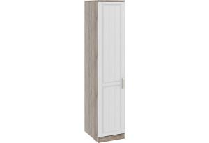 Шкаф для белья с 1-ой дверью левый «Прованс» Дуб Сонома трюфель/Крем