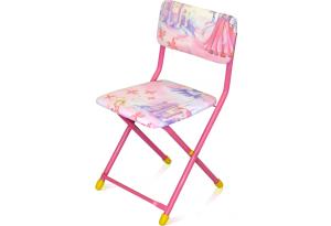 Стул детский складной Умница (сиденье и спинка мягкие ) СТУ-1