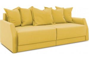 Диван «Люксор Slim» Maserati 11 (велюр) желтый