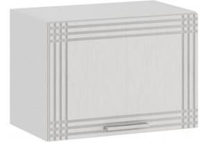 Шкаф навесной c одной откидной дверью «Ольга» (Белый/Белый)