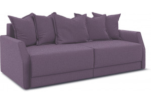 Диван «Люксор Slim» Neo 09 (рогожка) фиолетовый