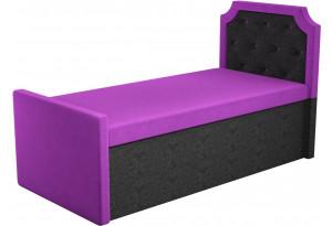 Кушетка Севилья Фиолетовый/Черный (Микровельвет)