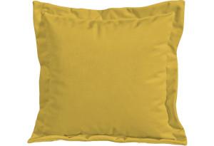 Подушка малая П2 (Poseidon Curcuma (иск.замша) желтый)
