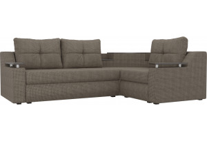 Угловой диван Тесей корфу 03 (Рогожка)