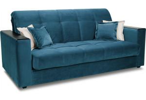 Диван «Орион Т1» (160х200) (Beauty 07 (велюр) синий)