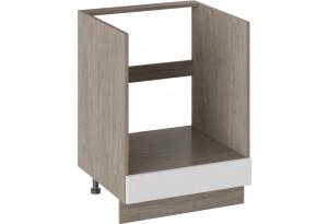 Шкаф напольный под бытовую технику (ОДРИ (Белый софт))