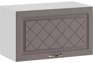 Шкаф навесной c одной откидной дверью «Бьянка» (Белый/Дуб серый)