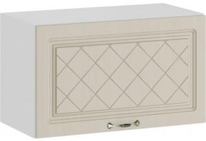 Шкаф навесной c одной откидной дверью «Бьянка» (Белый/Дуб ваниль)