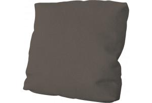 Подушка малая П1 (Poseidon Coffee (иск.замша) коричневый)