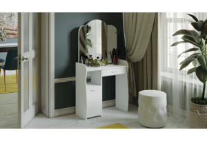 Стол туалетный «София Т1» (Белый)