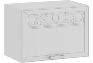 Шкаф навесной c одной откидной дверью «Долорес» (Белый/Сноу)