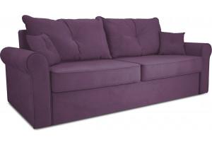 Диван «Синди» Kolibri Violet (велюр) фиолетовый