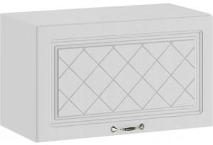 Шкаф навесной c одной откидной дверью «Бьянка» (Белый/Дуб белый)