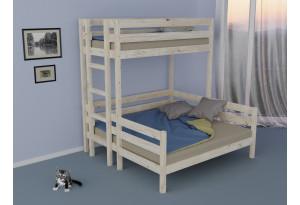 Кровать двухъярусная трехспальная Уют