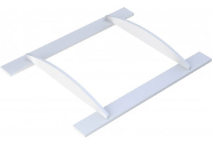 Рамка для пеленания Polini kids Basic белый