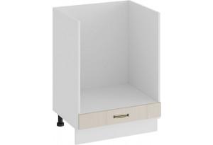 Шкаф напольный под бытовую технику «Лина» (Белый/Крем)