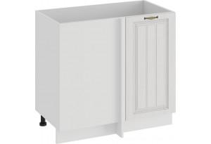 Шкаф напольный угловой «Лина» (Белый/Белый)