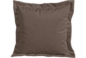 Подушка малая П2 Galaxy 04 (велюр) темно-коричневый