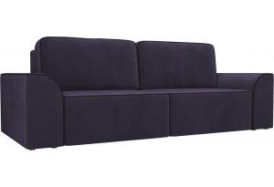 Прямой диван Вилсон Фиолетовый (Велюр)
