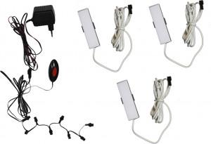 Комплект светодиодной подсветки ПСТ с 3-мя светильниками