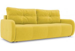 Диван «Томас Slim» Neo 08 (рогожка) желтый