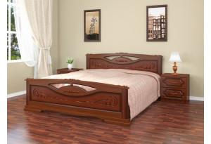 Кровать Елена 2 из массива