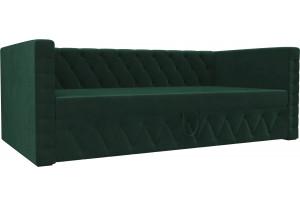 Детская кровать Таранто Зеленый (Велюр)