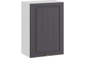 Шкаф навесной c одной дверью «Лина» (Белый/Графит)