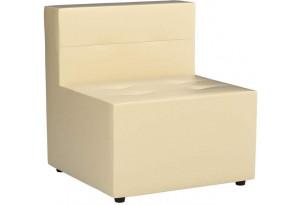 Модульный диван Домино Бежевый (Экокожа)