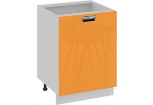 Шкаф напольный (левый) (БЬЮТИ (Оранж))
