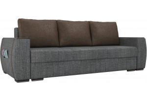 Прямой диван Брион Серый (Рогожка)