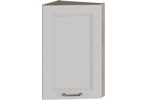 Шкаф навесной торцевой (ОДРИ (Белый софт))