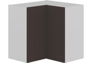 Шкаф навесной угловой с углом 90 (БЬЮТИ (Грэй))