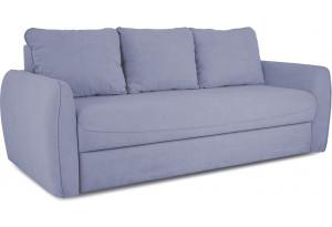 Диван «Отто» (Poseidon Blue Graphite (иск.замша) серо-фиолетовый)