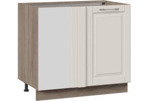 Шкаф напольный с планками для формирования угла (СКАЙ (Бежевый софт))