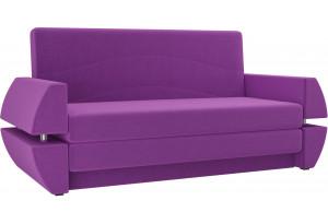 Диван прямой Атлант Т мини Фиолетовый (Микровельвет)