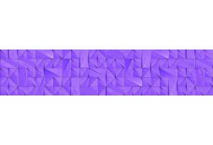Стеновая панель SP MSK Треугольники Фиолет