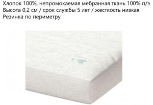 Наматрасник Aqua Stop натяжная с бортами 10 160x200