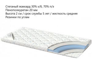 Наматрасник Foam 160x200