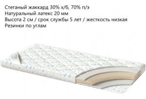 Наматрасник Latex 160x200