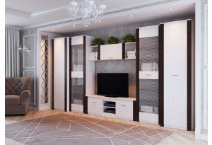 Модульная гостиная Гамма-20 Венге Вар.2