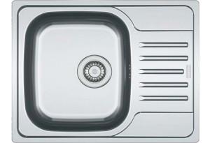 Мойка кухонная врезная Franke POLAR PXN 611-60, с широким полукрылом, 610х490