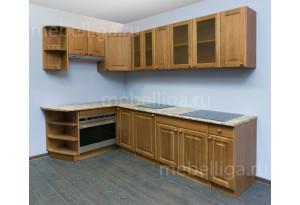 Кухня массив сосны Скайда-2 погонный метр