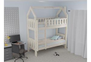 Кровать двухъярусная Домик Сказка