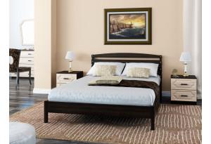 Кровать Камелия 1 из массива