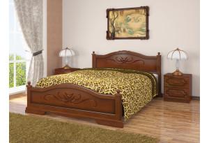 Кровать Карина из массива