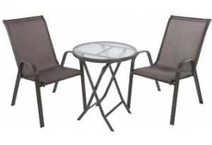 Комплект садовый KINGSTON + TIFFANY: стол + 2 кресла