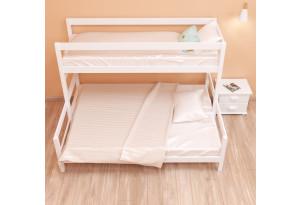 Кровать двухъярусная трехспальная