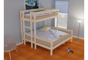 Кровать двухъярусная трехспальная Эконом